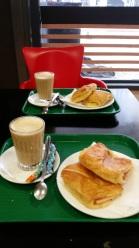 Śniadanie w supermarkecie za 3 Euro :)