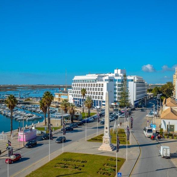widok z Hotelu Faro