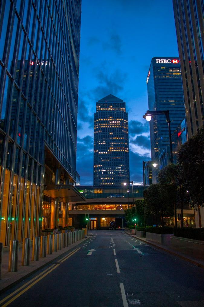 One Canada Square, 236m, drugi pod względem wysokości budynek w Wielkiej Brytanii