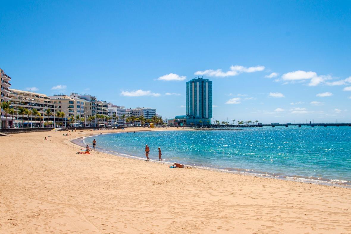 plaża Arreclife