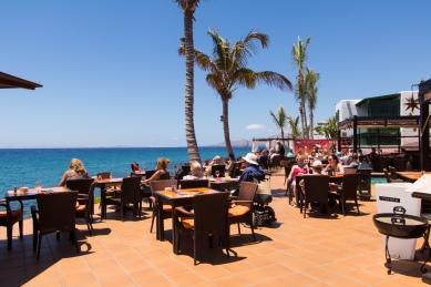 Cafe la Ola in Puerto del Carmen